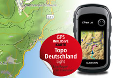 eTrex 30 Topo Deutschland Light