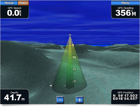 Garmin BlueChart Fish Eye 3D