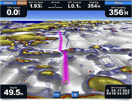 Garmin BlueChart Mariner's Eye 3D