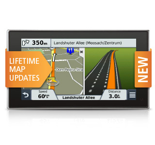 Garmin nvi sat nav map updates