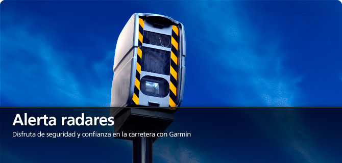 Servicio de radares Cyclops preinstalado en todos los navegadores de GARMIN