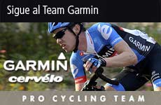 Sigue al Team Garmin