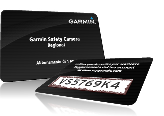 Garmin Autovelox Scratch Card