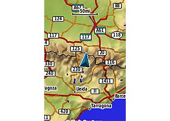 GPS Navegador Garmin Map 64sc 7