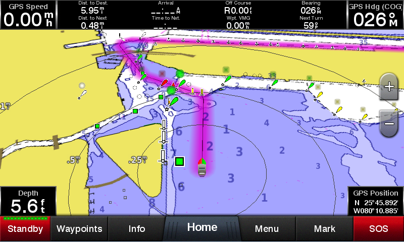 Garmin GPSMAP 942 Touch screen Chartplotter with US Chart