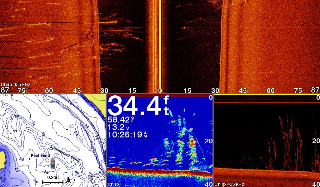 Garmin GPSMAP 1042xsv/1242xsv Series Chartplotter/Fishfinder Combo