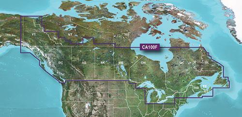 Preloaded Canada Lakevue Hd Maps