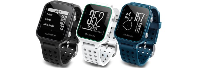 Garmin Approach S20 Golf GPS at a Glance