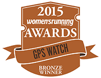 women's running GPS watch award