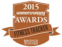 women's running fitness tracker award
