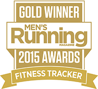 men's running fitness tracker award