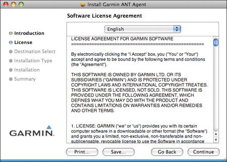 garmin ant agent mac download